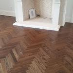 #2 common red oak herringbone